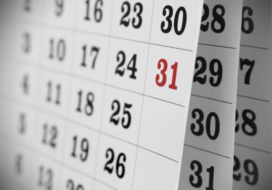 Calendário Para Eleição Unificada 2015
