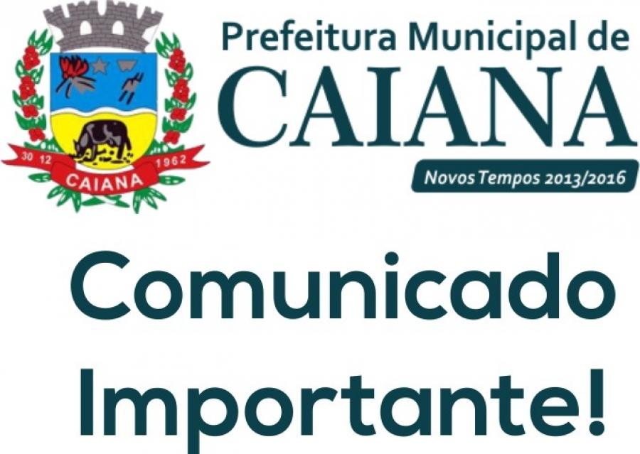 A Prefeitura comunica a população em geral, que os telefones para chamada de ocorrências de iluminação pública (Para consertos, reparos e manutenção) já estão disponíveis.